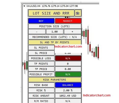 Buy Sell Position Size Calculator